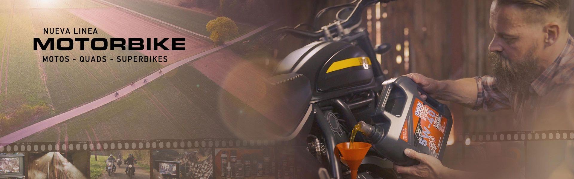 Nueva línea para motos MOTORBIKE